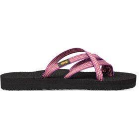 Teva Olowahu Sandals Women antiguous red plum